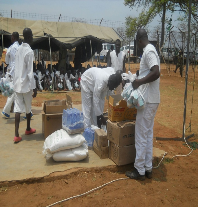 prisoners receiving parcels